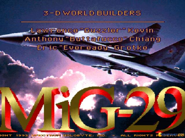 MiG-29: Deadly Adversary of Falcon 3.0 - title cover