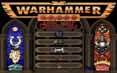 Warhammer 40,000: Chaos Gate - game cover