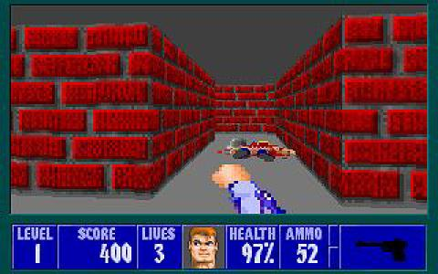 Wolfenstein 3D: Mortal Kombat edition - game cover