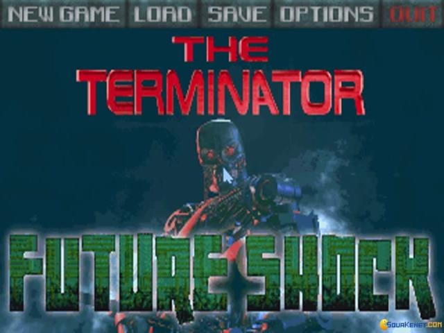Terminator: the Future Shock - title cover