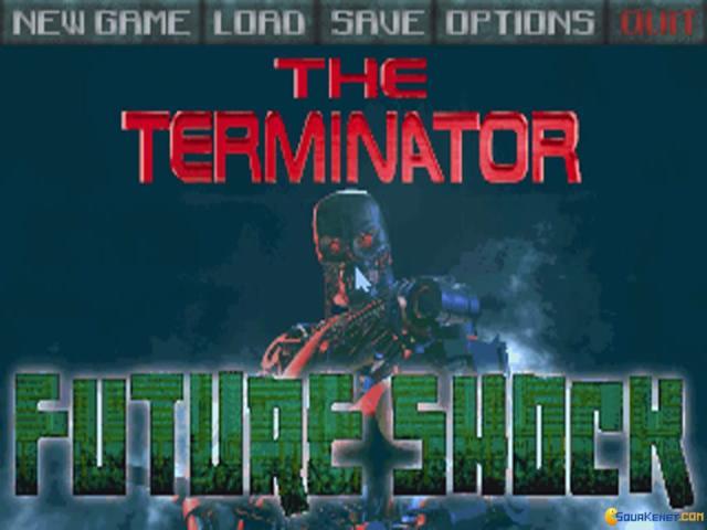 Terminator: the Future Shock - game cover