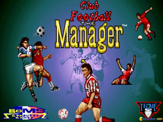 Club Football: The Manager - title cover