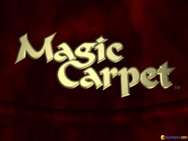 Magic Carpet plus - game cover