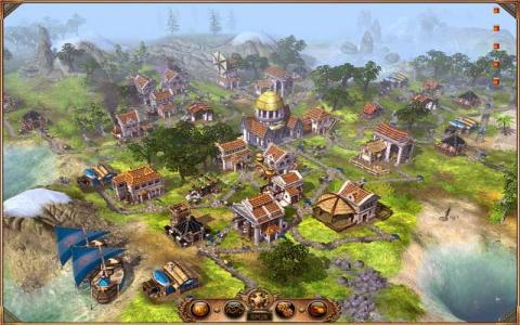 The Settlers 2: the Next Generation - title cover