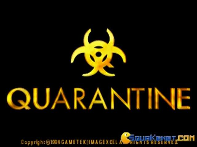 Quarantine - game cover