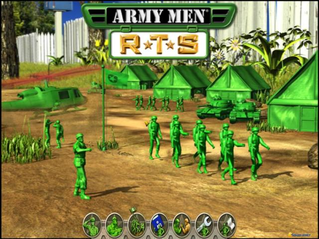 Army Men RTS - title cover