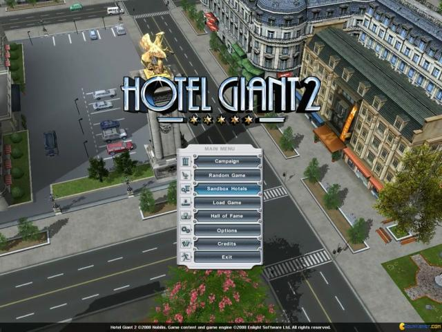 Hotel Giant 2 - title cover