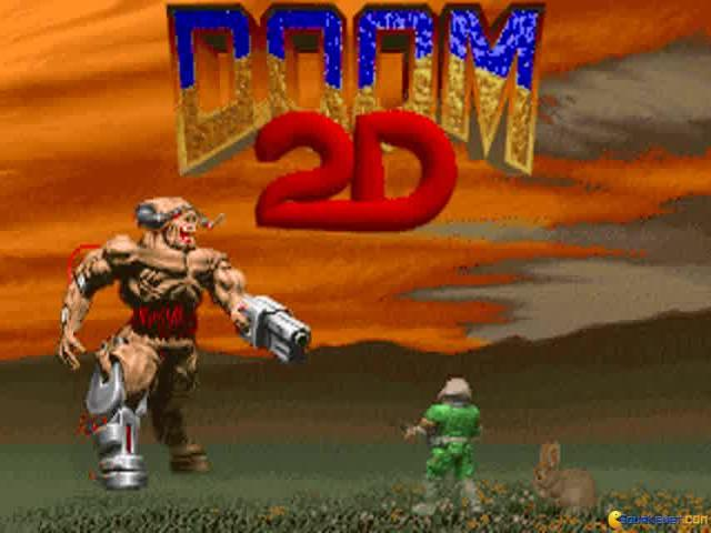 Doom 2D - game cover