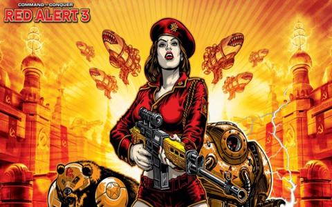 Command & Conquer Red Alert 3 - title cover