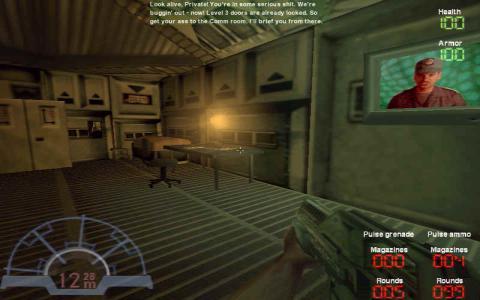 Aliens vs Predator - game cover