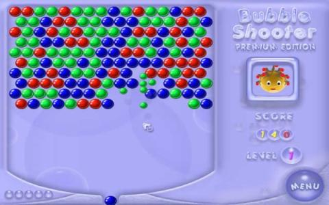 Bubble Shooter - title cover