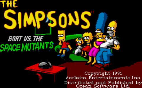 Bart Simpson vs. the Space Mutants - title cover