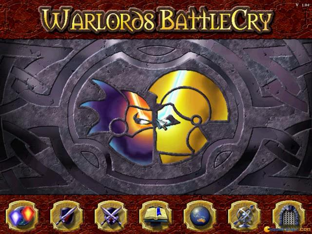 Warlords Battlecry - title cover