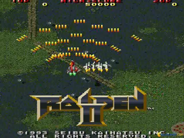 Raiden 2 - title cover
