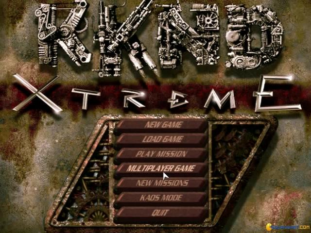 KKND: Krush Kill 'n Destroy Xtreme - game cover