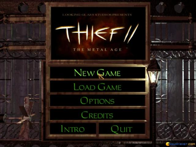 Thief 2: Metal Age - title cover