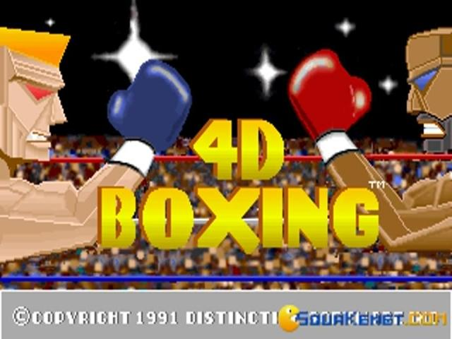 4D Sports Boxing - game cover