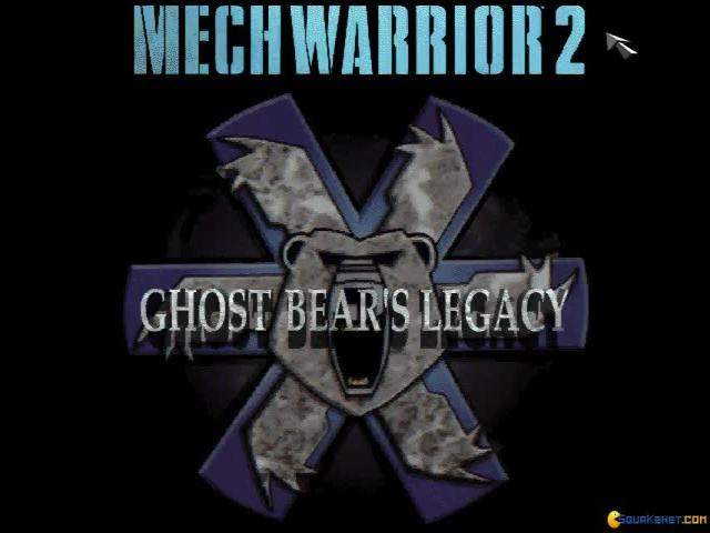 MechWarrior 2: Ghost Bear's Legacy - title cover