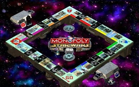 Star Wars: Monopoly - game cover