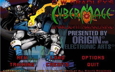 CyberMage: Darklight Awakening - game cover