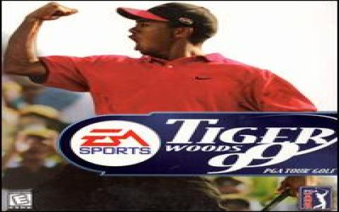 Tiger Woods PGA Tour 1999 - title cover