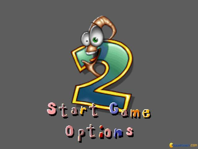 Earthworm Jim 2 - game cover