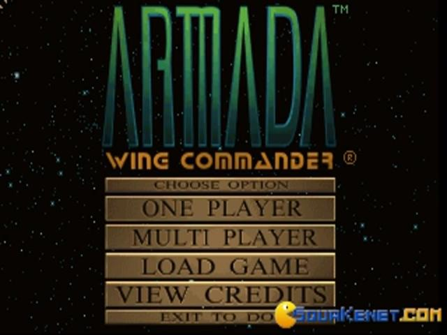 Wing Commander: Armada - title cover