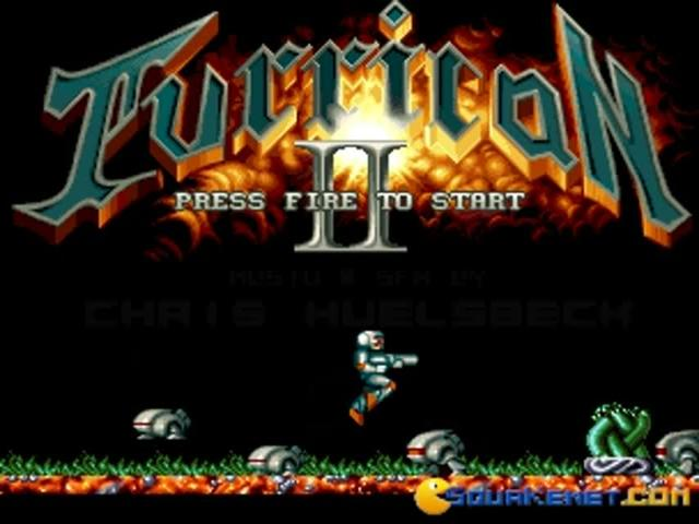 Turrican 2 - game cover