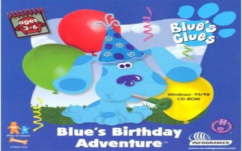 Blue's Birthday Adventure - game cover
