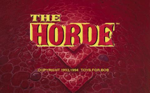 The Horde - title cover