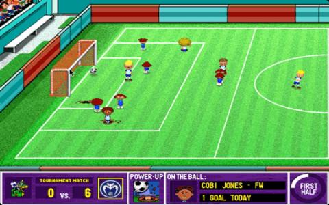 Backyard Soccer - game cover