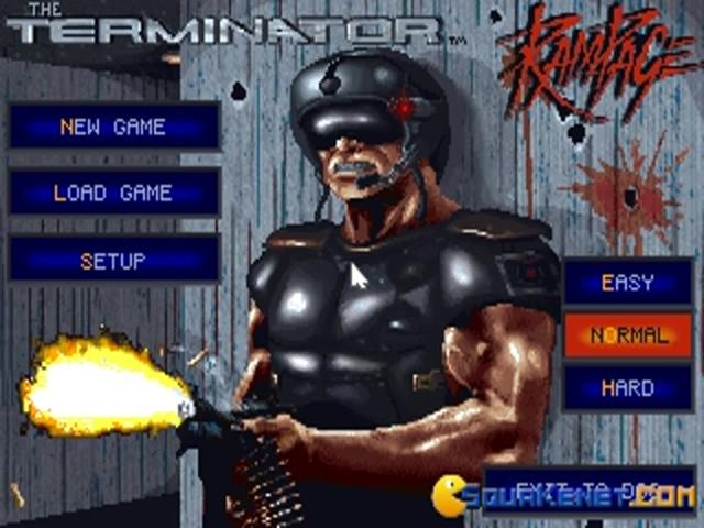 Terminator: the Rampage - game cover