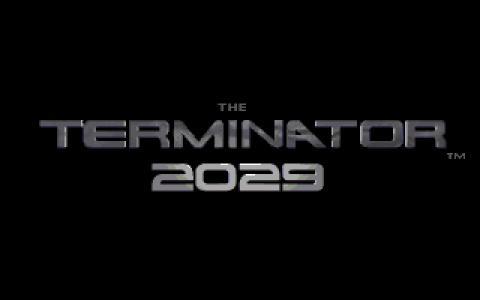 Terminator 2029 - title cover