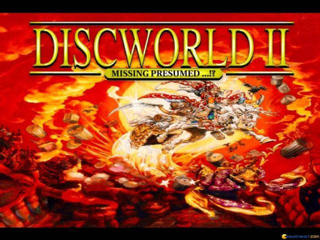 Discworld 2 - title cover