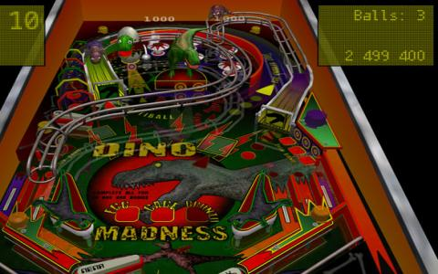 Pinball Madness - game cover