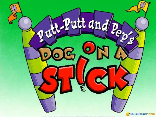 Putt-Putt and Pep's Dog on a Stick - game cover