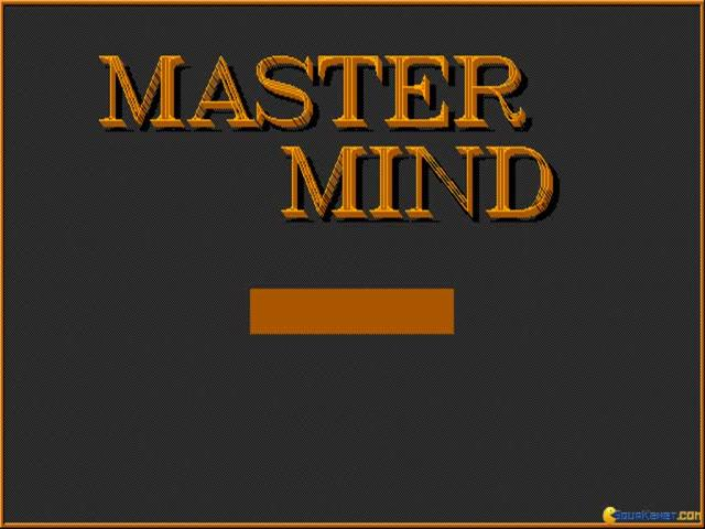 The Mastermind - title cover