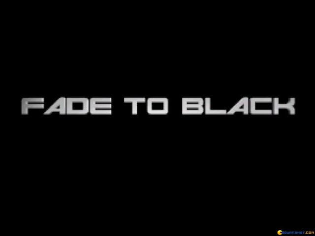 Fade to Black - title cover