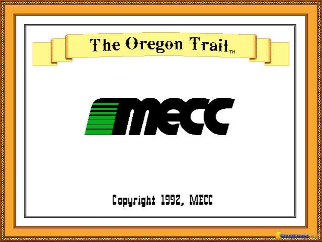 The Oregon Trail Deluxe - game cover
