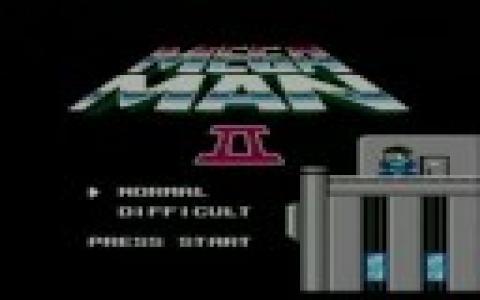 Mega Man 2 - title cover
