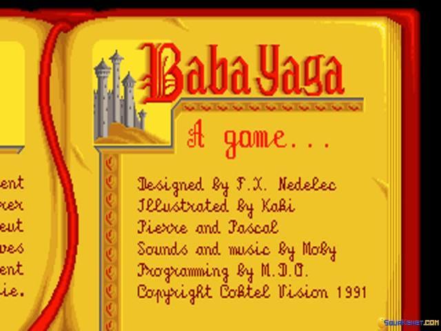 Once Upon a Time: Baba Yaga - game cover