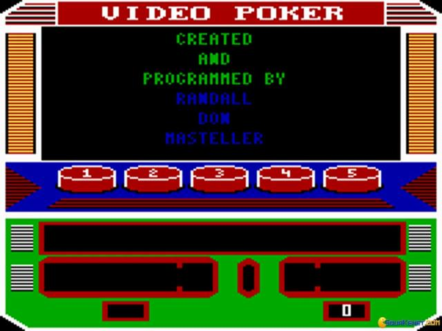 Las Vegas Video Poker - title cover