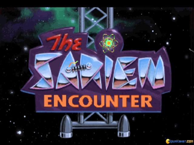 Space Quest 1: Roger Wilco in the Sarien Encounter  - title cover