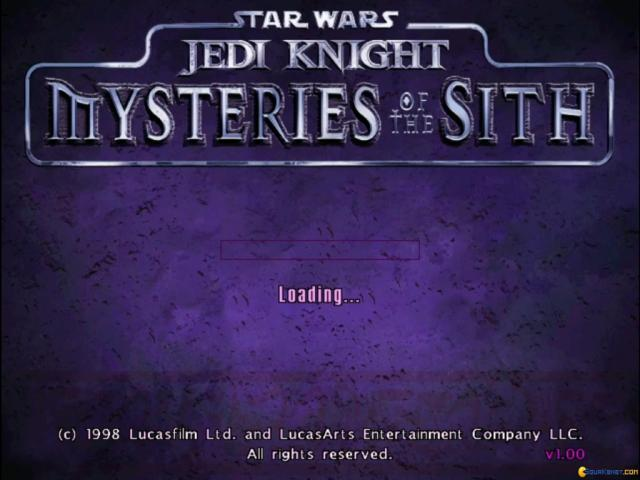 Star Wars: Jedi Knight - Mysteries of the Sith - game cover