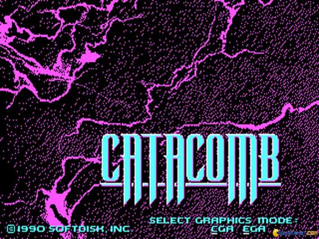 The Catacomb - title cover