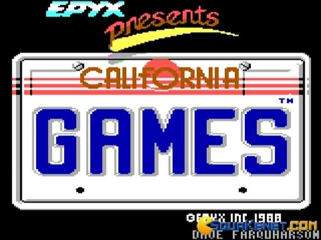 California Games - title cover