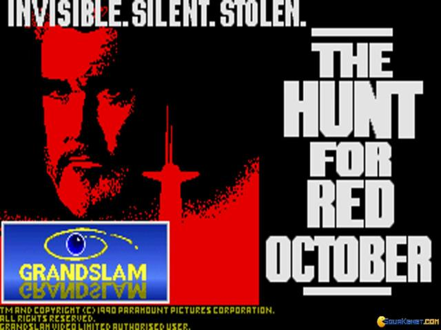 The Hunt for Red October - title cover