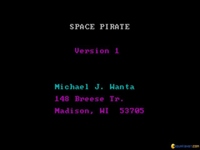 Space Pirate - title cover