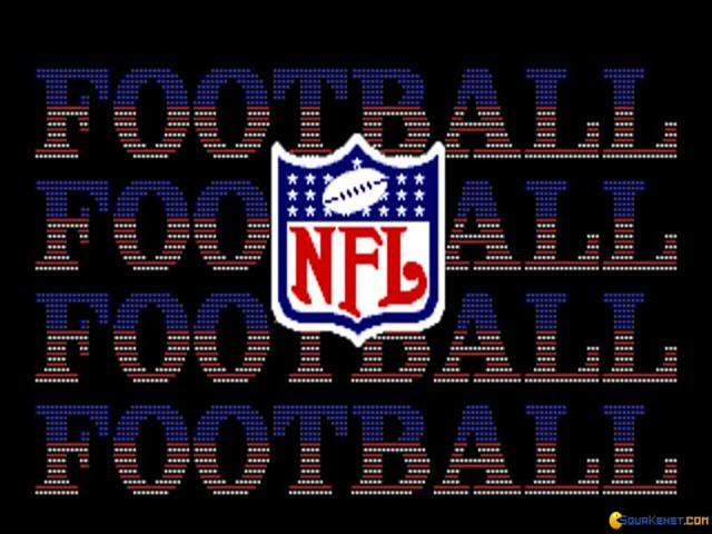 NFL Football - game cover