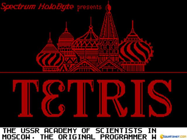 Tetris - title cover